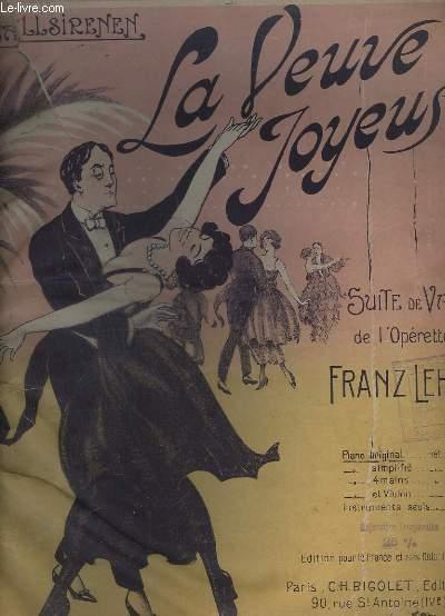 LA VEUVE JOYEUSE - PIANO ORIGINAL.