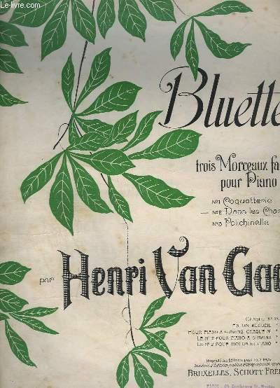 BLUETTES - 3 MORCEAUX FACILES POUR PIANO : N° 2 : DANS LES CHAMPS - POUR PIANO.