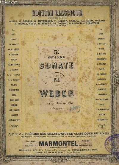 3° GRANDE SONATE - OP.49 - PIANO.