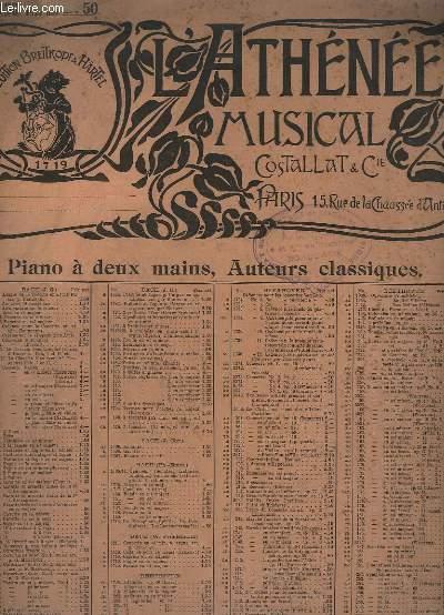 L'ATHENEE MUSICAL - N°5030 - DER FREISCHÜTZ.