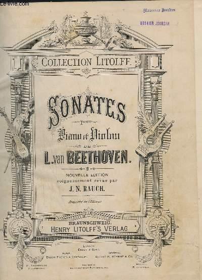 SONATES POUR PIANO ET VIOLON - 10 SONATES.