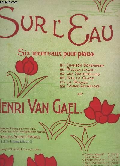 SUR L'EAU - N°6 : COMME AUTREFOIS - PIANO - OP.122.