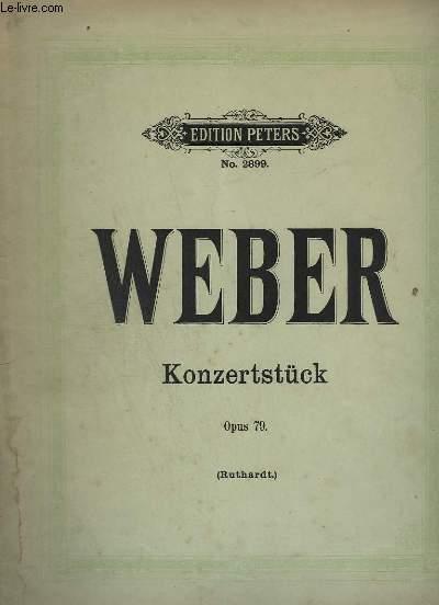 KONZERTSTÜCK - OPUS 79 - N°2899 - FÜR DAS PIANOFORTE MIT BEGLEITUNG DES ORCHESTERS.