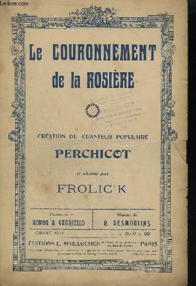 LE COURONNEMENT DE LA ROSIERE.