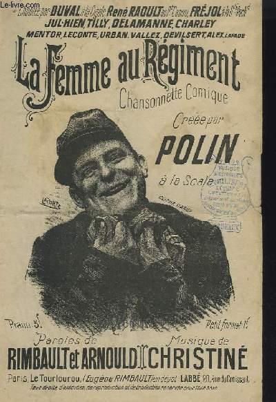 LA FEMME AU REGIMENT.
