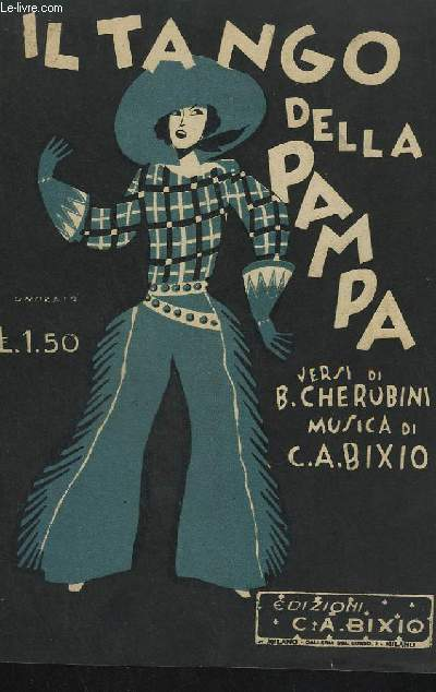IL TANGO DELLA PAMPA - MANDOLINO.