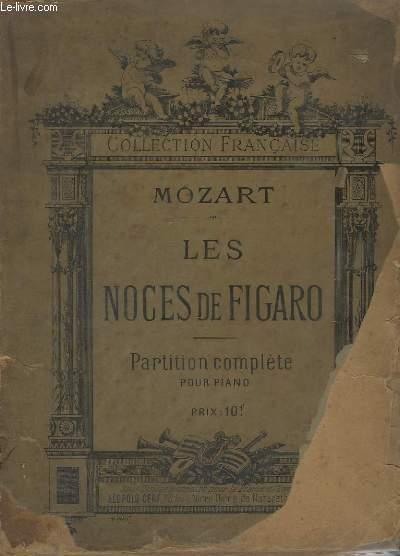 LES NOCES DE FIGARO - PARTITION COMPLETE POUR PIANO.