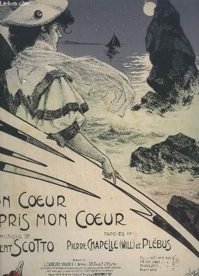 TON COEUR A PARIS MON COEUR - CHANSON - VALSE - POUR PIANO.