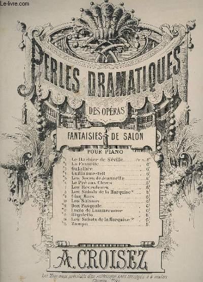 ZAMPA - SOUVENIR DE L'OPERA D'HEROLD - POUR PIANO.