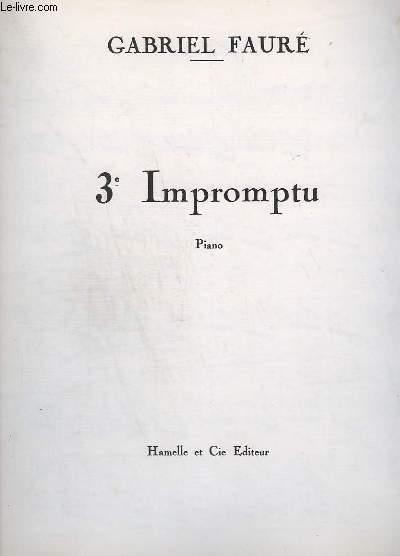 3° IMPROMPTU - PIANO - OP.34.
