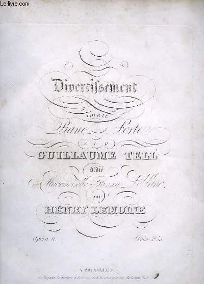 DIVERTISSEMENT POUR LE PIANO FORTE - OP.11.