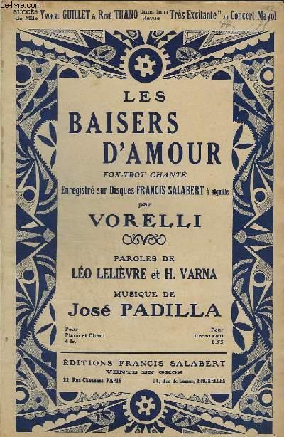 LE BAISERS D'AMOUR.
