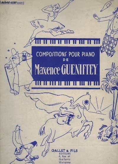 COMPOSITIONS POUR PIANO - TROTTE PETIT ANON ! - MORCEAU DE GENRE.