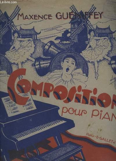 AU MOULIN DES QUATRE VENTS - CHANSON POUR PIANO.
