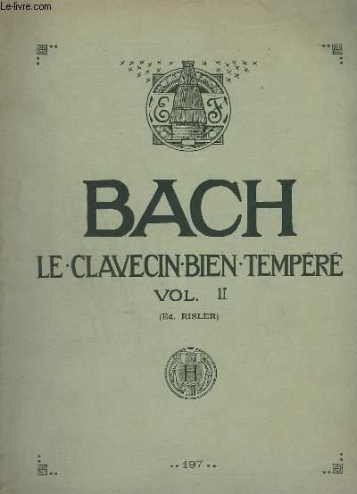 LE CLAVECIN TEMPERE - VOLUME 2.