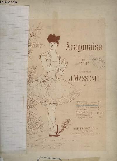 ARAGONAISE - PIANO A 4 MAINS.