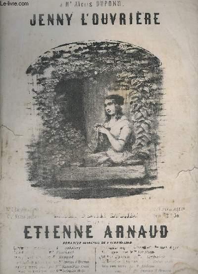 JENNY L'OUVRIERE - POUR PIANO.