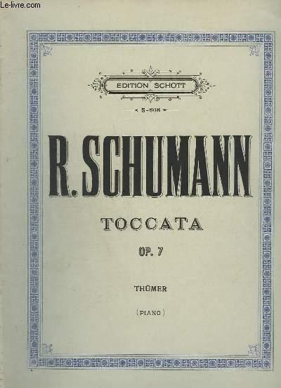 TOCCATA - OP.7 - POUR PIANO.