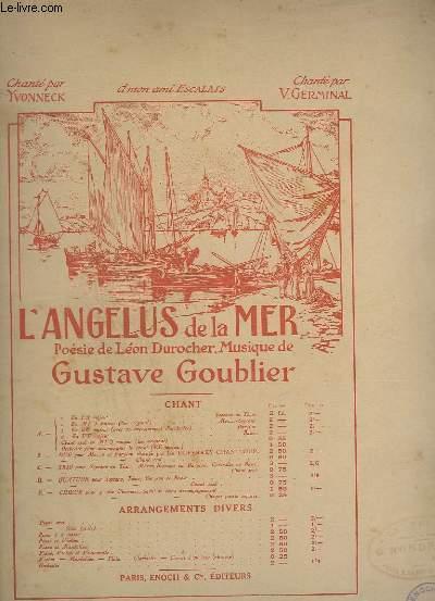L'ANGELIUS DE LA MER - N°2 - PIANO ET PAROLES.