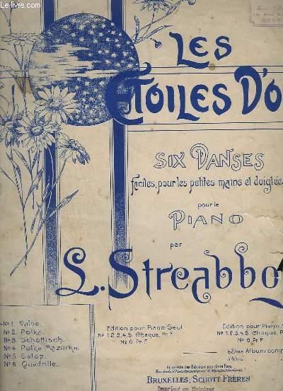 LES ETOILES D'OR - VALSE POUR PIANO.