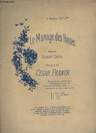 LE MARIAGE DES ROSES - N°2 : EN LA POUR PIANO.