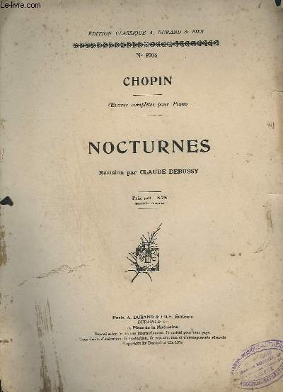 NOCTURNES - N°9704