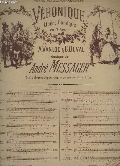 VERONIQUE - N° 11 : DUETTO DE L'ANE - PIANO + HELENE + FLORESTAN.