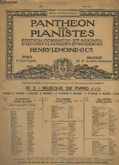 POLONAISES POUR PIANO - N°455 : OP.26 EN UT MINEUR + EN MI MINEUR.