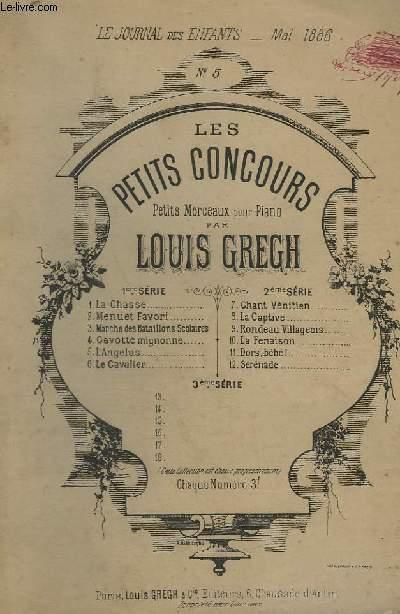 L'ANGELUS - N°5 : DES PETITS CONCOURS - POUR PIANO.
