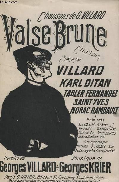 VALSE BRUNE - CHANT + PAROLES.