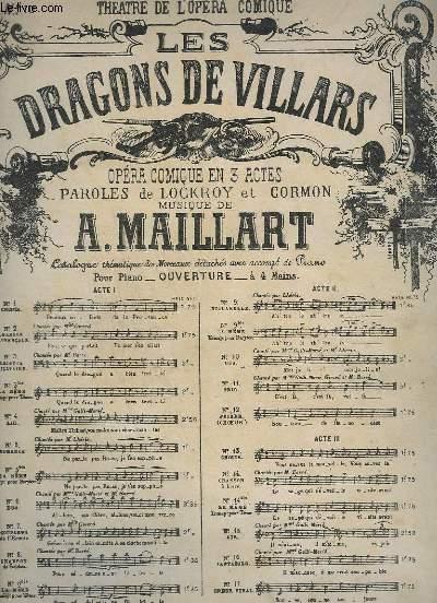 LES DRAGONS DE VILLARS - N°10 : DUO - CHANT ( ROSE + SYLVAIN ) + PIANO.