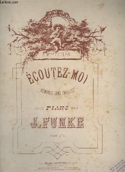 ECOUTEZ-MOI - POUR PIANO.