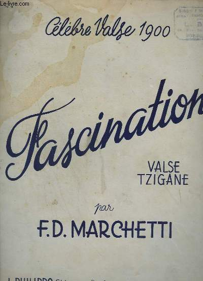 Fascination - valse tzigane pour piano.