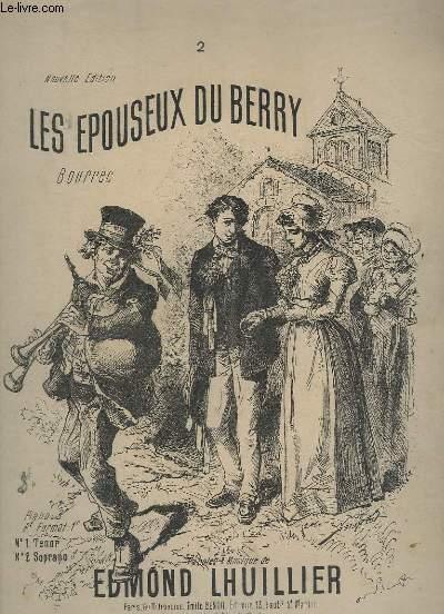 LES EPOUSEUX DU BERRY - POUR PIANO ET CHANT - N°2 : SOPRANO.