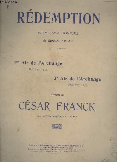 REDEMPTION - 1° AIR : AIR DE L'ARCHANGE - PIANO-CHANT.