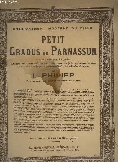 PETIT GRADUS AD PARNASSUM - PIANO.