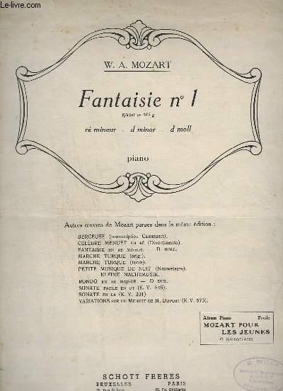 FANTAISIE 1 - PIANO.