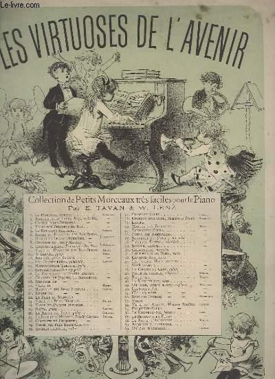 LES VIRTUOSE DE L'AVENIR - N° 60 : UN BAL D'OISEAUX - RONDEAU POUR PIANO.