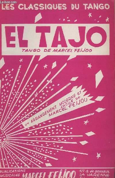 EL TAJO - VIOLON A+B + PIANO + BANDONEON A+B + CONTREBASSE.