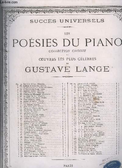 LES POESIE DU PIANO - MELODIE POUR PIANO - OP.54.