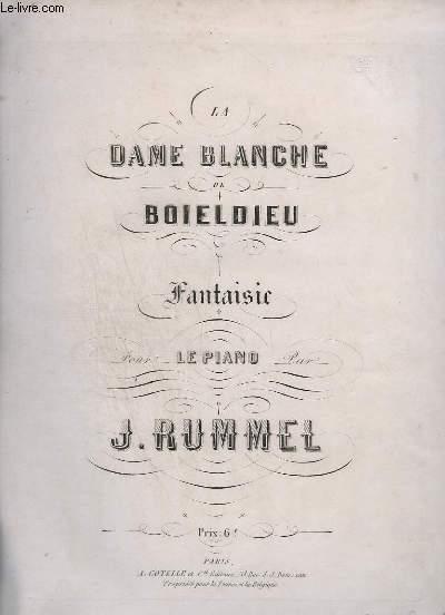 LA DAME BLANCHE DE BOILDIEU - POUR PIANO.