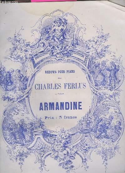 AMANDINE - REDOWA POUR PIANO.