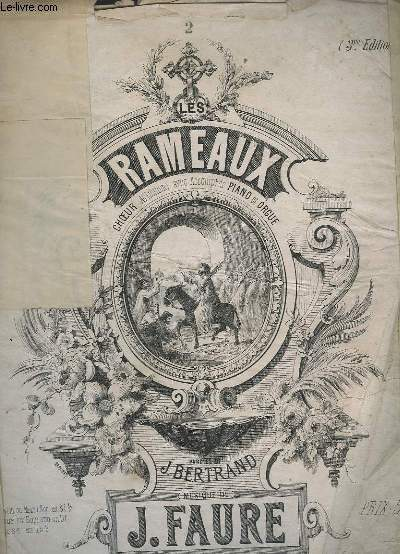 LES RAMEAUX - HYMNE POUR PIANO - N°2 : POUR SOPRANO OU TENOR.