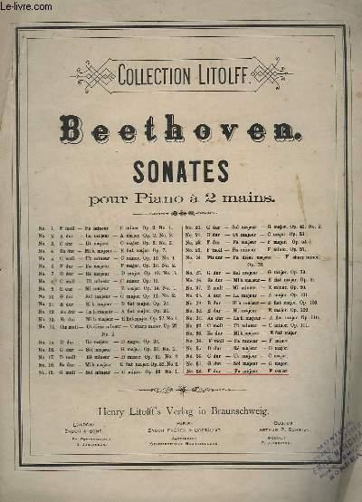 SONATES POUR PIANO A 2 MAINS - N°38 : F DUR / FA MAJEUR / F MAJOR.