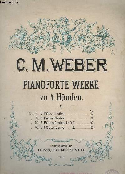 PIANOFORTE WERKE ZU 4 HANDEN - PIANO.