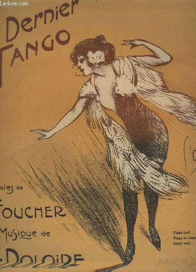 SOUS LE CIEL ARGENTIN - OU LE DERNIER TANGO - PIANO.
