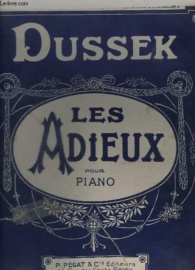 LES ADIEUX POUR PIANO.