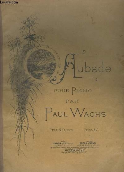 AUBADE POUR PIANO.
