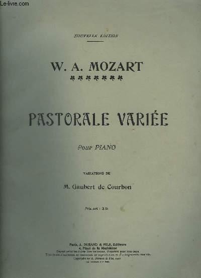 PASTORALE VARIEE - POUR PIANO.