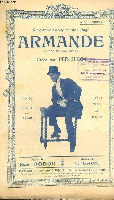 ARMANDE - CHANT.
